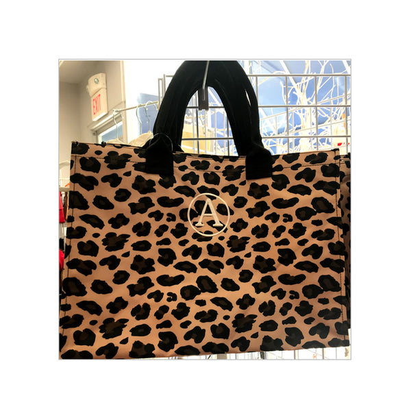 Wild Side Initial Tote