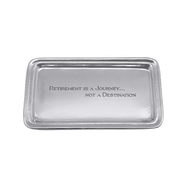 Retirement is a Journey Statement Tray