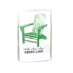 Green Lake Dish Towel