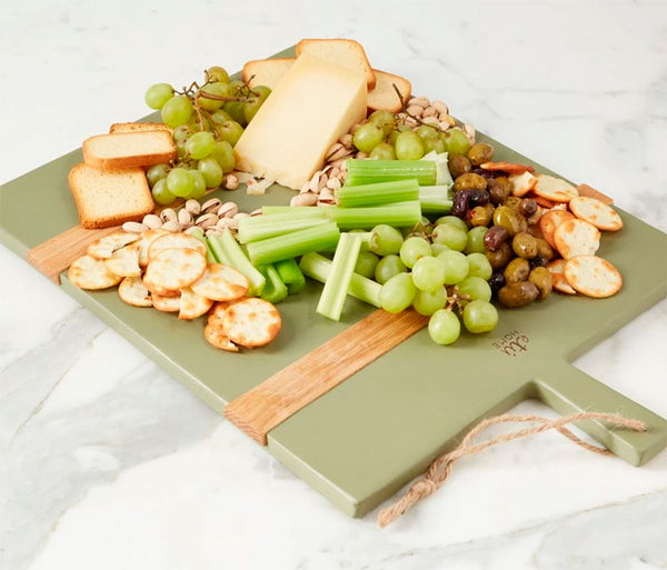 Rectangle Mod Charcuterie Board Sage