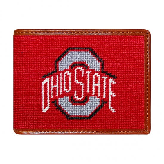 College Needlepoint Wallets