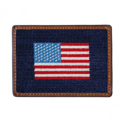 Needlepoint Credit Card Wallet