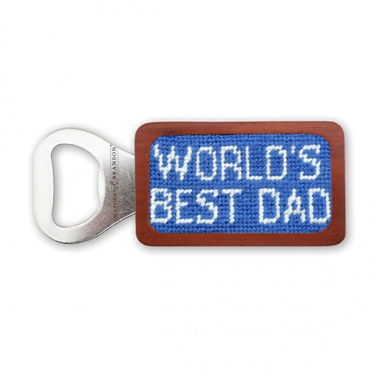 DAD Needlepoint Bottle Opener