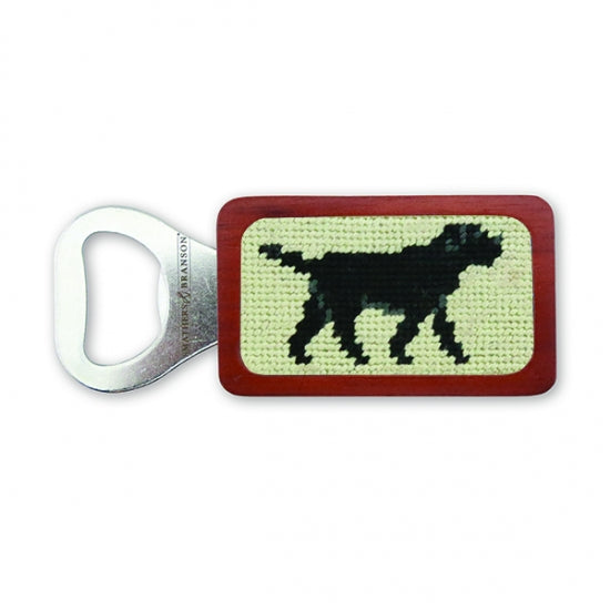 Dog Needlepoint Bottle Opener