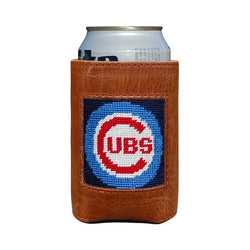 Cubs Needlepoint Can Cooler