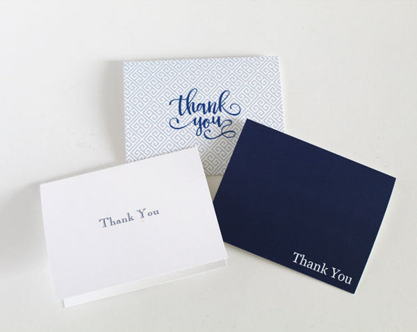 Thank You Notes Folded