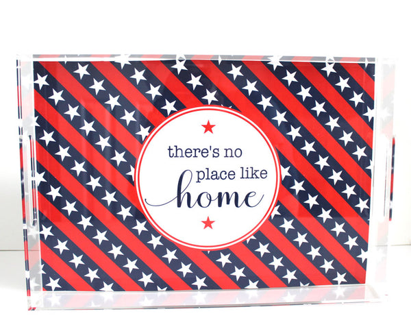 Stars & Stripes Acrylic Tray