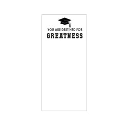 Destined for Greatness List Pad