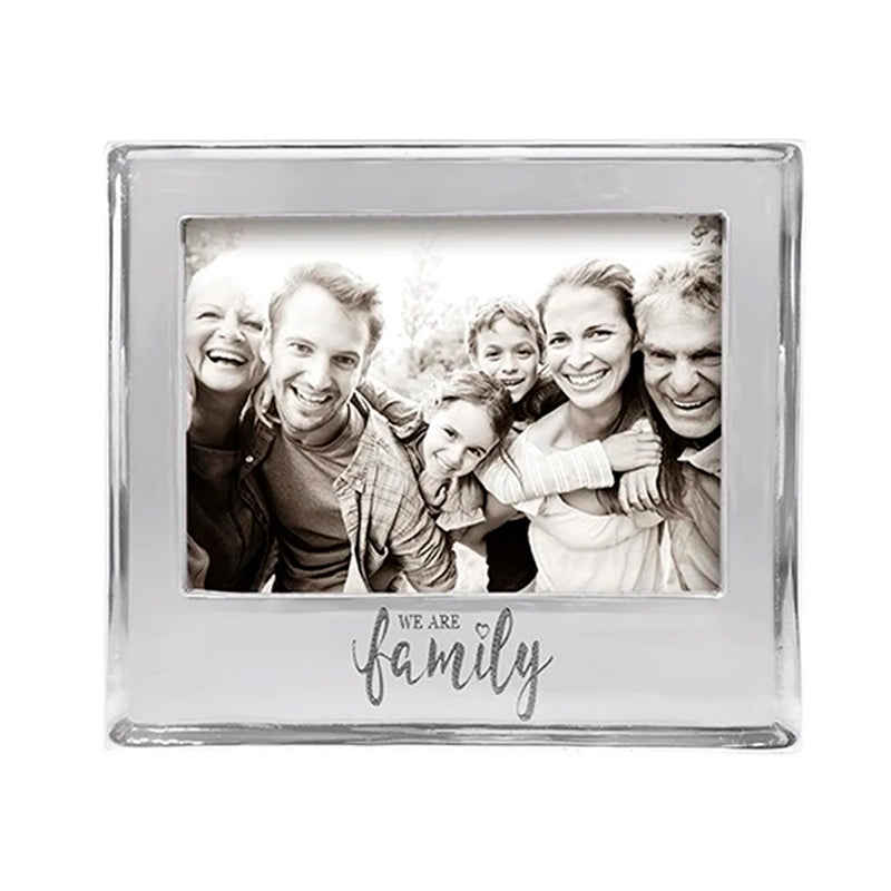 WE ARE FAMILY SIGNATURE 5X7 FRAME