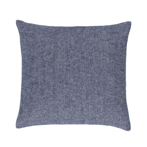 Initial Herringbone Accent Pillow