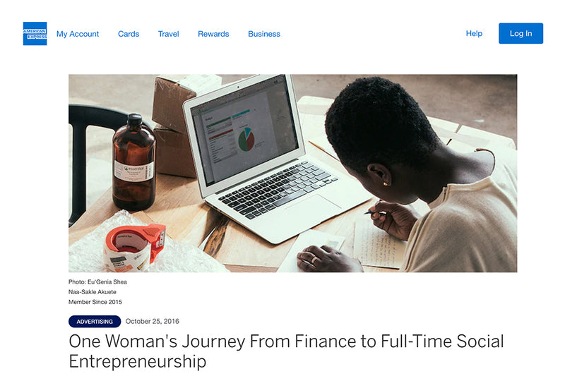 One Woman's Journey From Finance to Full-Time Social Entrepreneurship