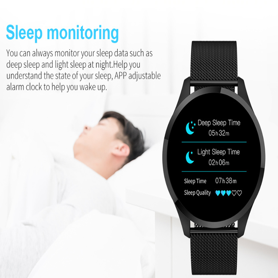 PLIZM™ SMARTWATCH - WATERPROOF, SLEEP MONITOR, BLOOD PRESSURE MONITOR AND  HEART RATE MONITOR