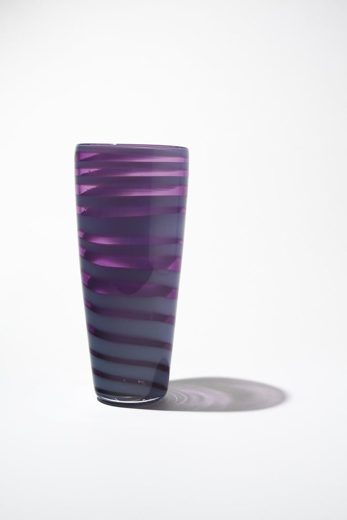 Purple Conical Vase