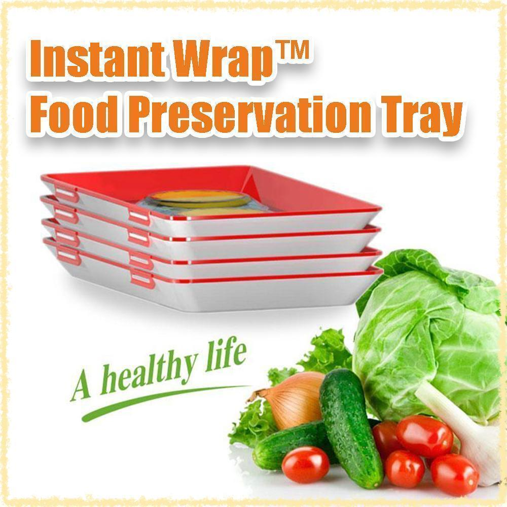 [25% OFF! 600 UNITS ONLY] InstantWrap™ Food Preservation Tray