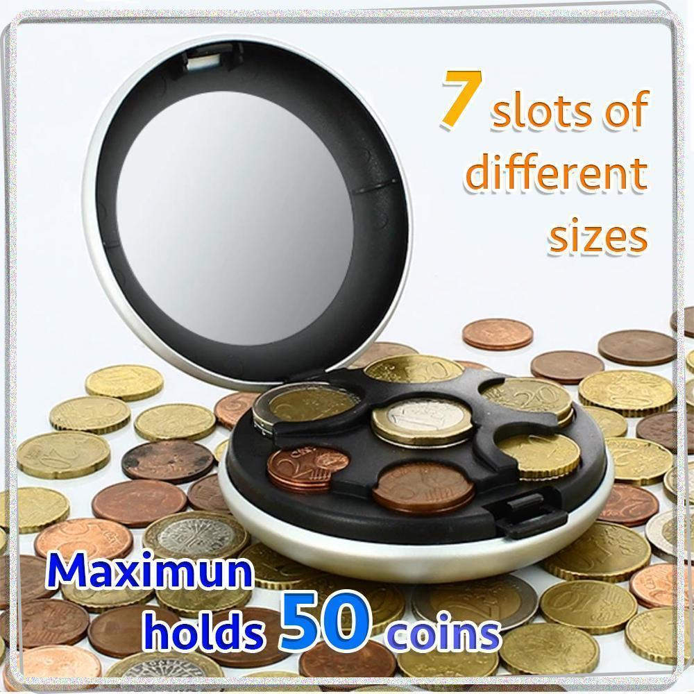 9 Colors - Aluminum Alloy Coin Dispenser