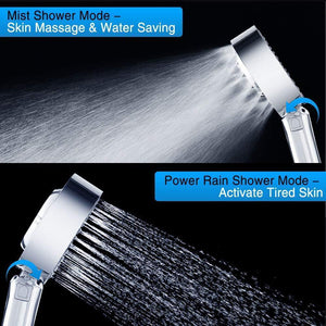 Double-Sided Spa Shower Head
