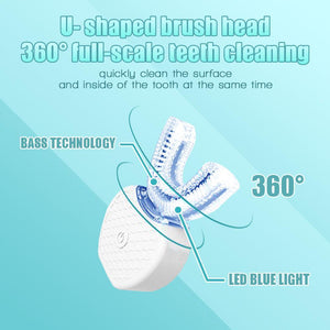 Hands-Free Ultrasonic Automatic Toothbrush