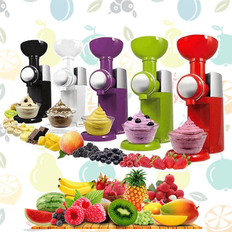 Frozen Fruit Yogurt Machine