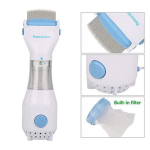Electric Anti-Flea Comb