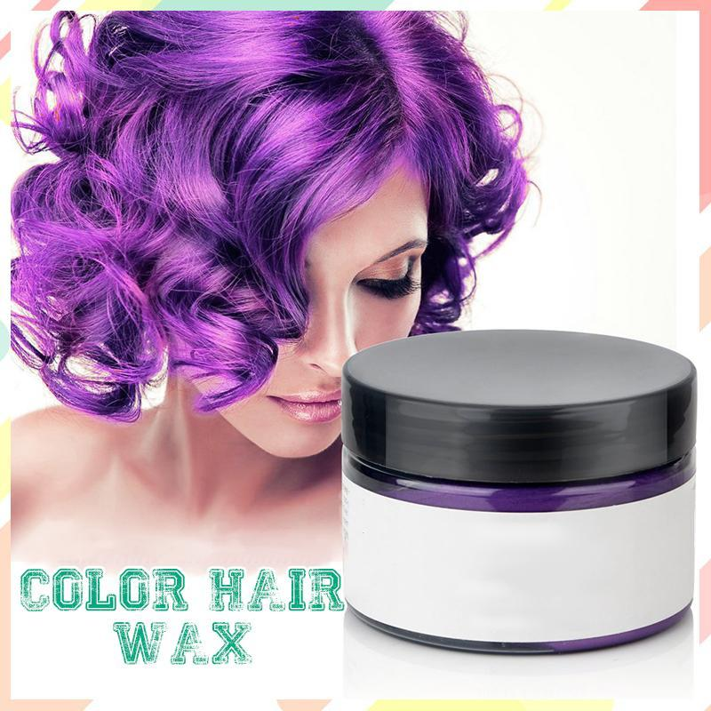Instant Color Hair Wax