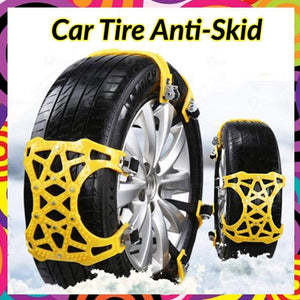 Car Tire Anti-Skid Snow Chains