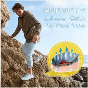 Monsoon™ Ultimate Quick Dry Travel Shoe