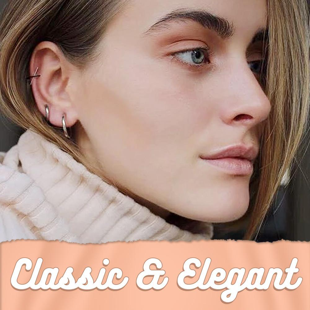 Hypoallergenic Retractable Earrings (Buy 1 pair Get 1 pairs Free!)