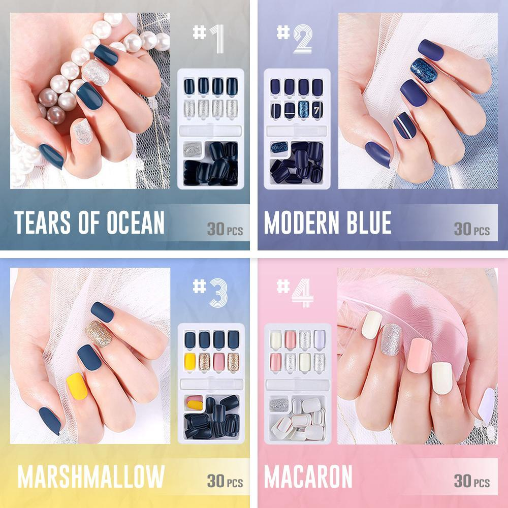 Reusable Stick-On-Nails [39 Styles for you to choose]