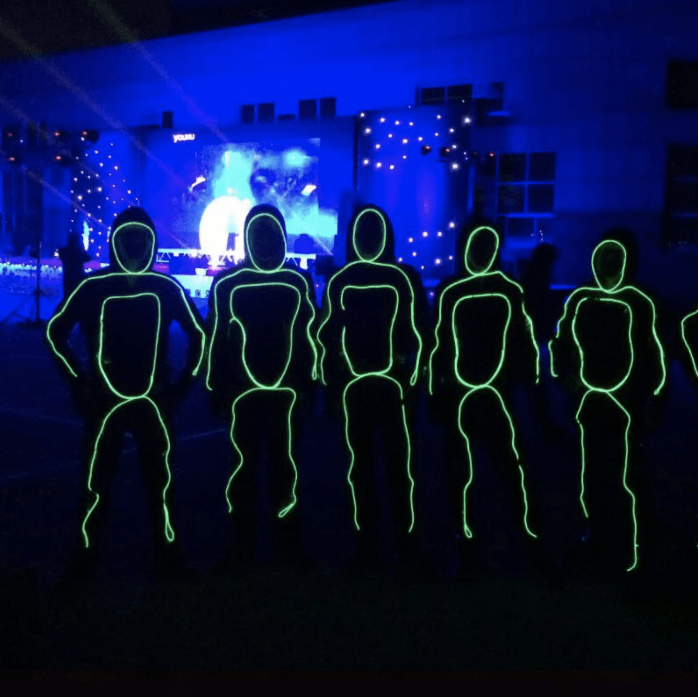 [Halloween Sale] 50% OFF - LED Stick Men KIT