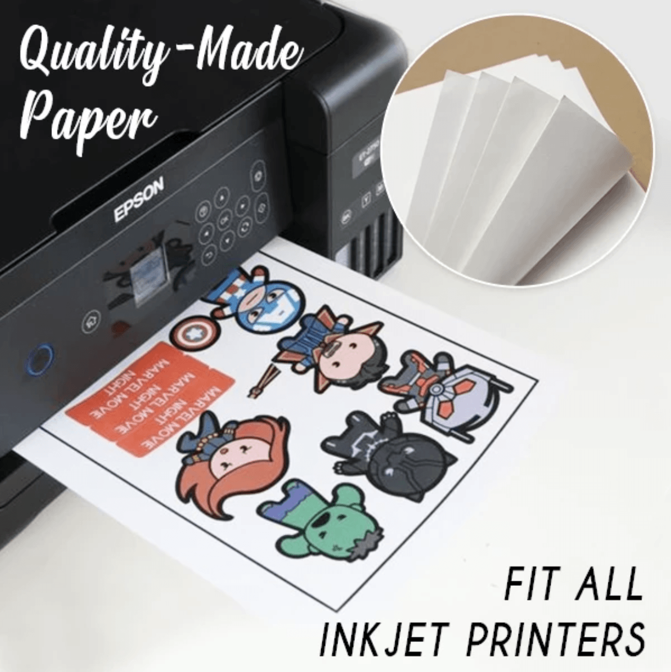 Easy Make Heat Transfer Paper ( 10 Pcs / Set)