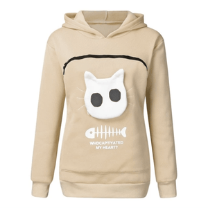 Cat Pouch Hoodies