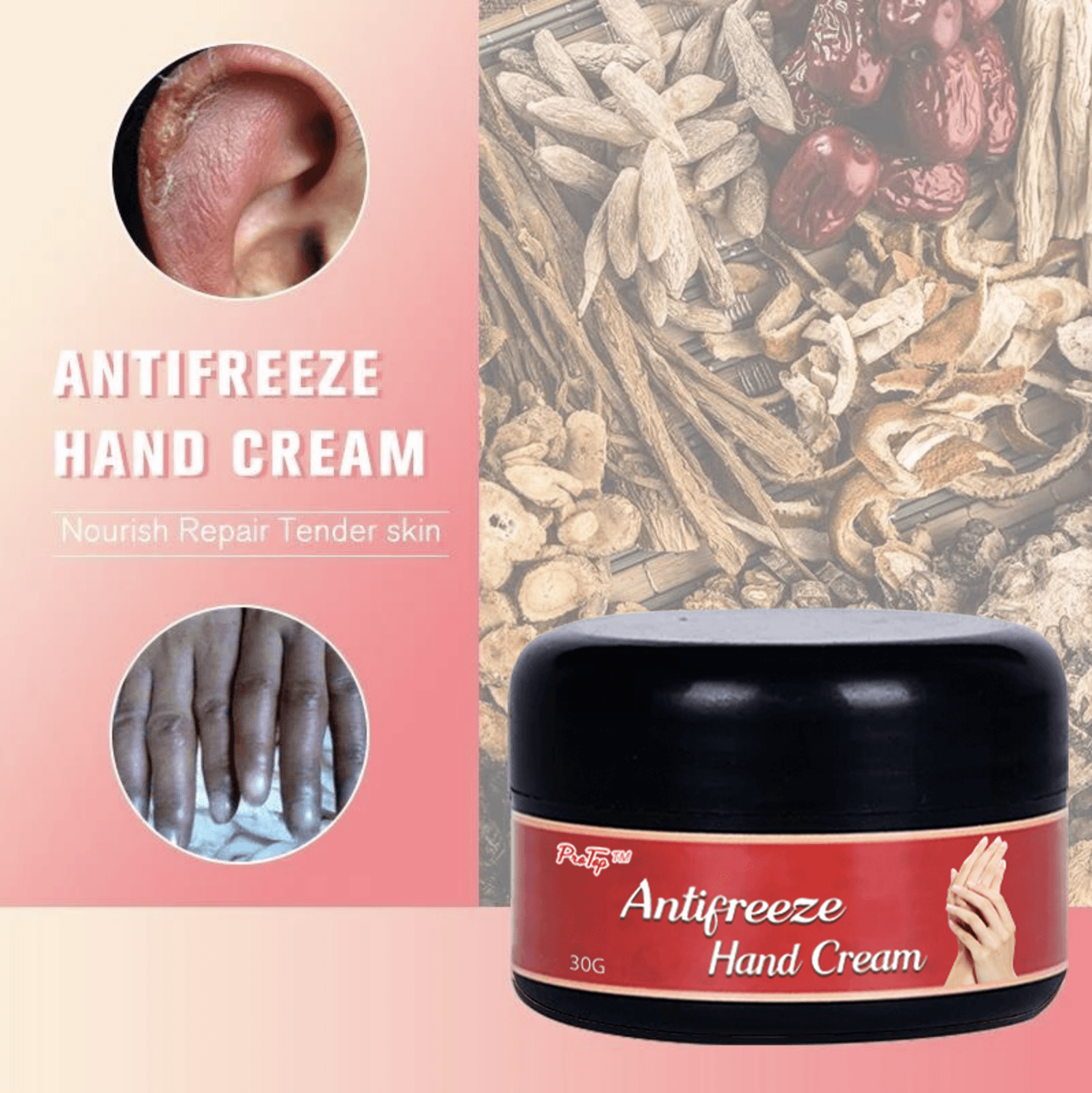 Antifreeze Hand Cream