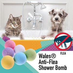 Wales® Anti-Flea Shower Bomb