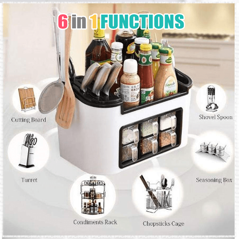 Multi-function Kitchen Storage Box