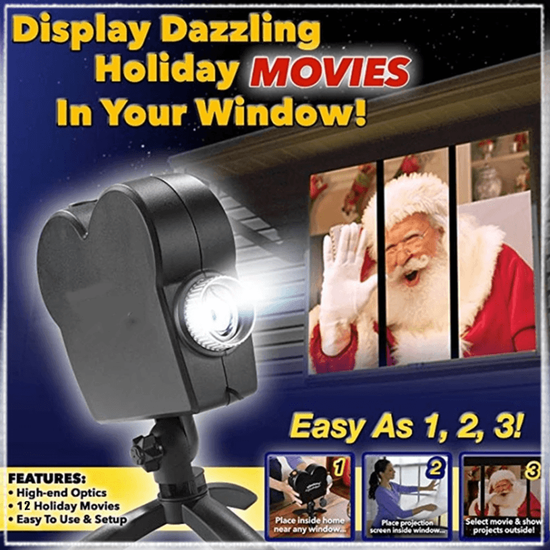 Window Display Projector (HALLOWEEN PRE PROMOTION - 50%OFF)