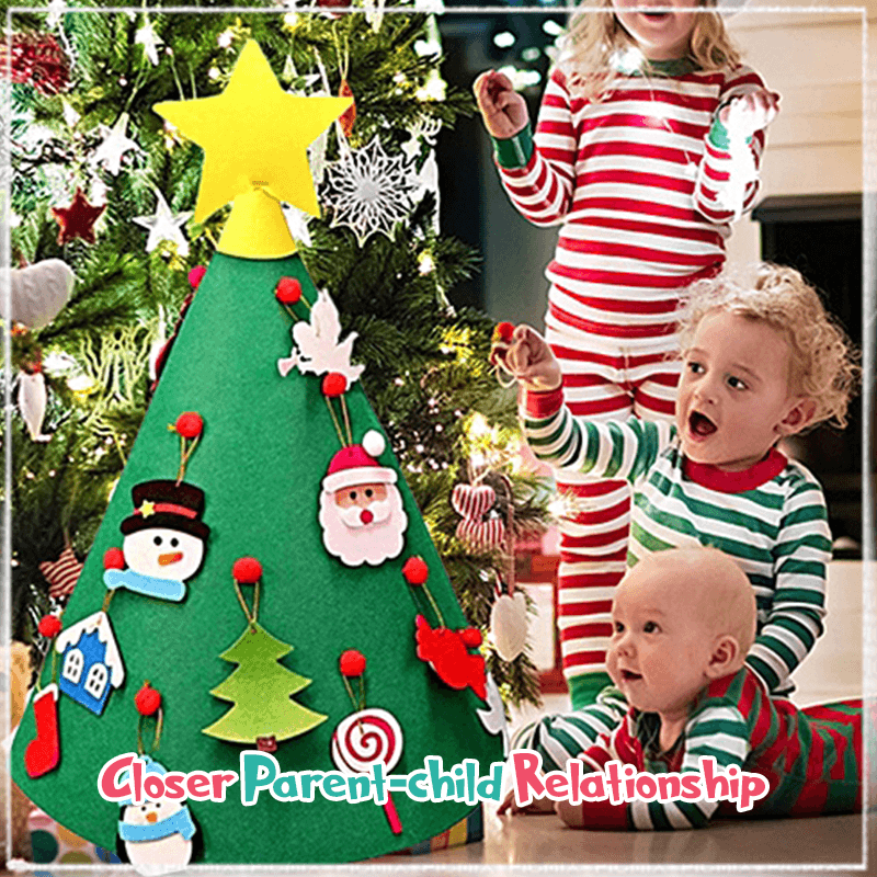 3D DIY Felt Christmas Tree (Factory Outlet 60% OFF!)