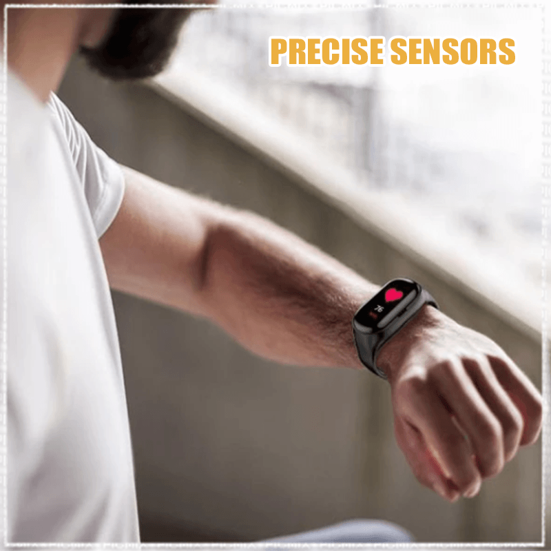 2-in-1 Smart Watch with Bluetooth 5.0 Earbuds