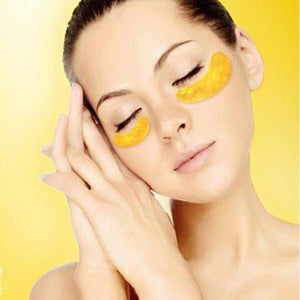Premium 24K Gold Collagen Eye Mask (10 Pairs)