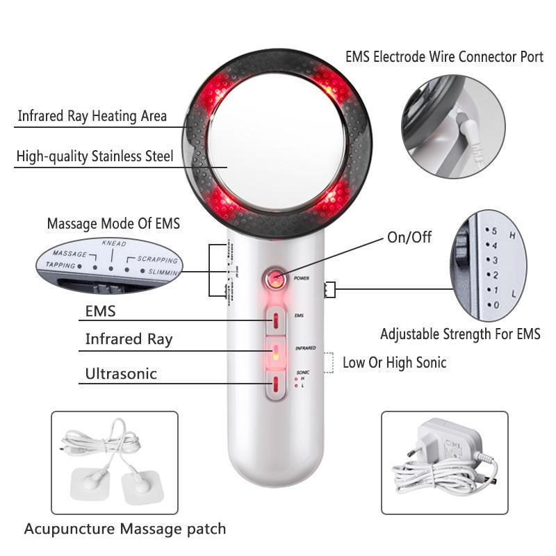 Premium Ultrasound Lipo Loss Massager