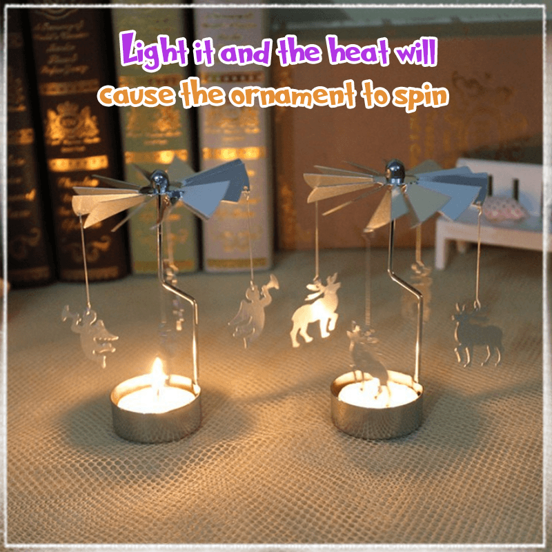 Spinning Tealight Holders