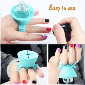 Nail Polish Holder Ring (Factory Outlet 60% OFF Today!)