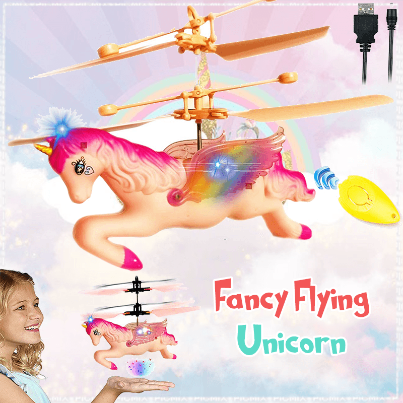 Fancy Flying Unicorn