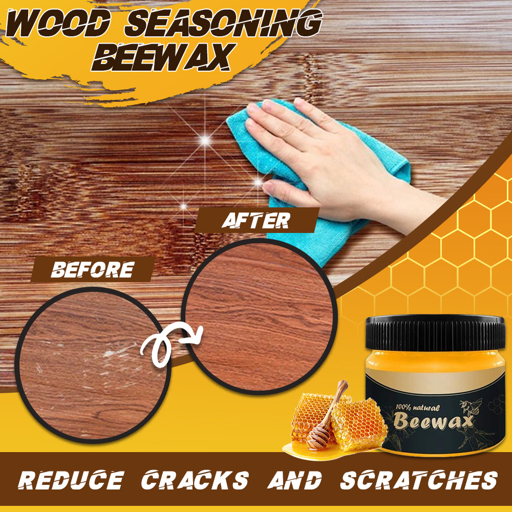 THE ORIGINAL CARETOSHINE™ WOOD SEASONING BEEWAX