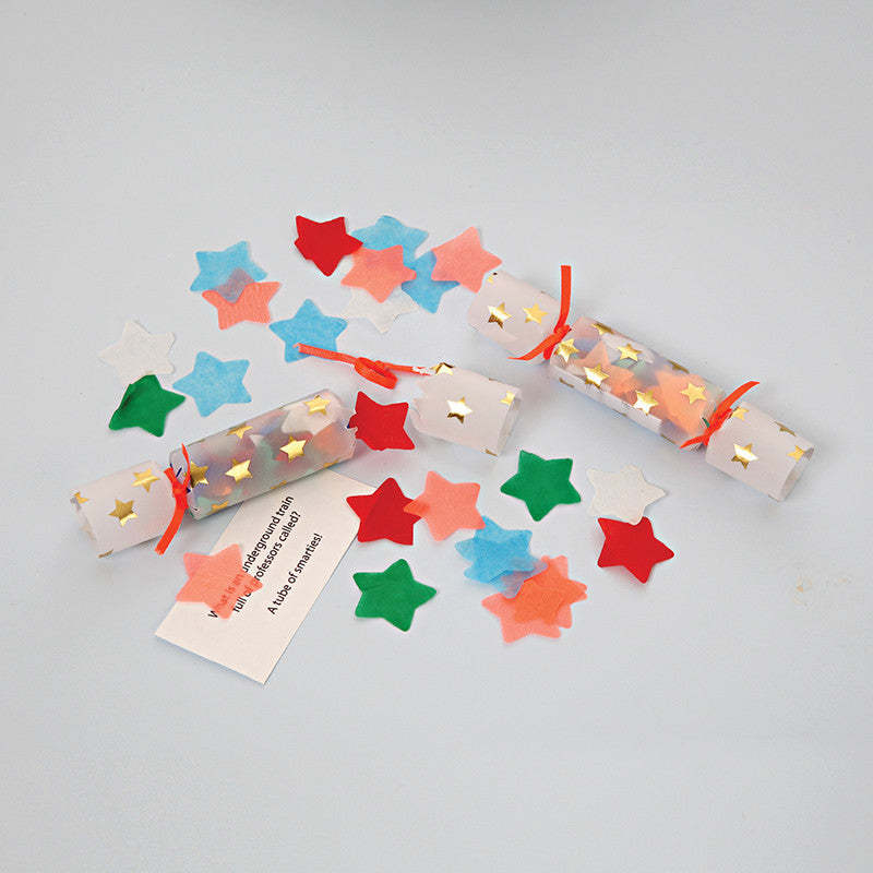 Tiny Confetti Crackers