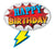 SUPER HERO BIRTHDAY MYLAR 27""