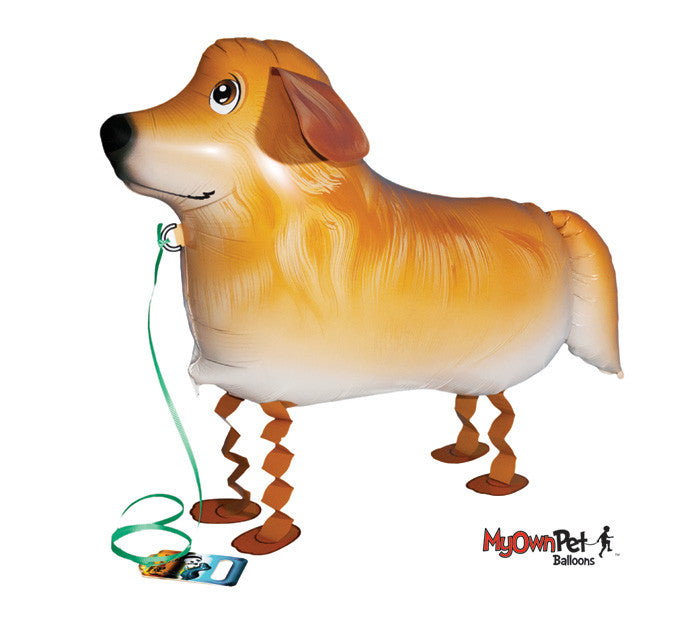 My Own Pet air walker balloon Golden Retriever