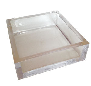 Lucite Luncheon Napkin Holder