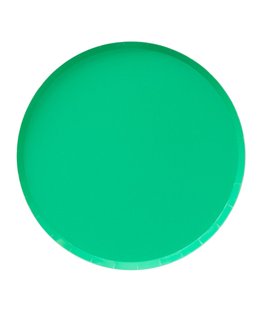 Kelly Green Plate Large