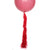 Red Frilly Balloon Tassel