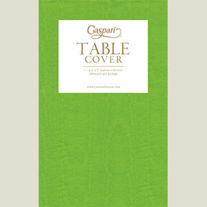 Moss Green Moiré Table Cover